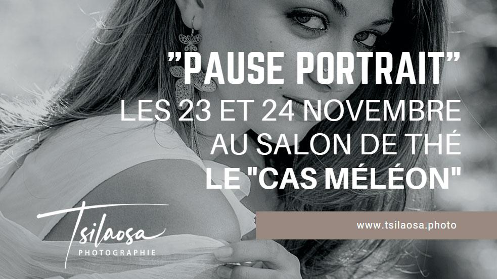 Pause Portrait