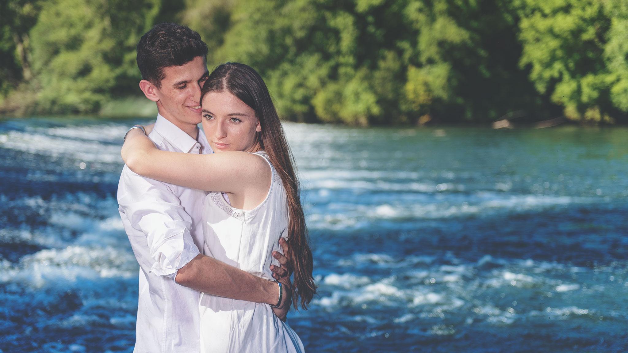 Amandine et Benjamin