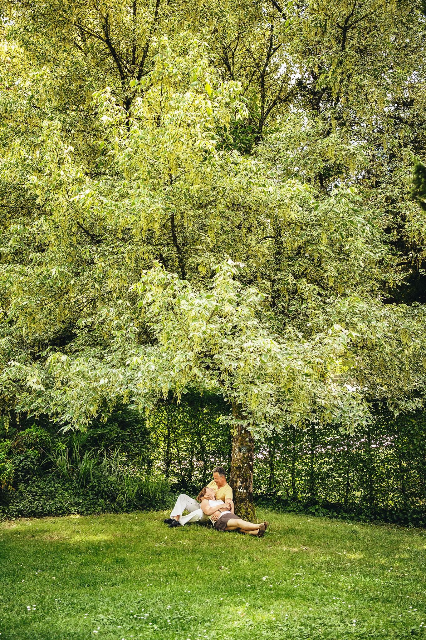 Couples en extérieur