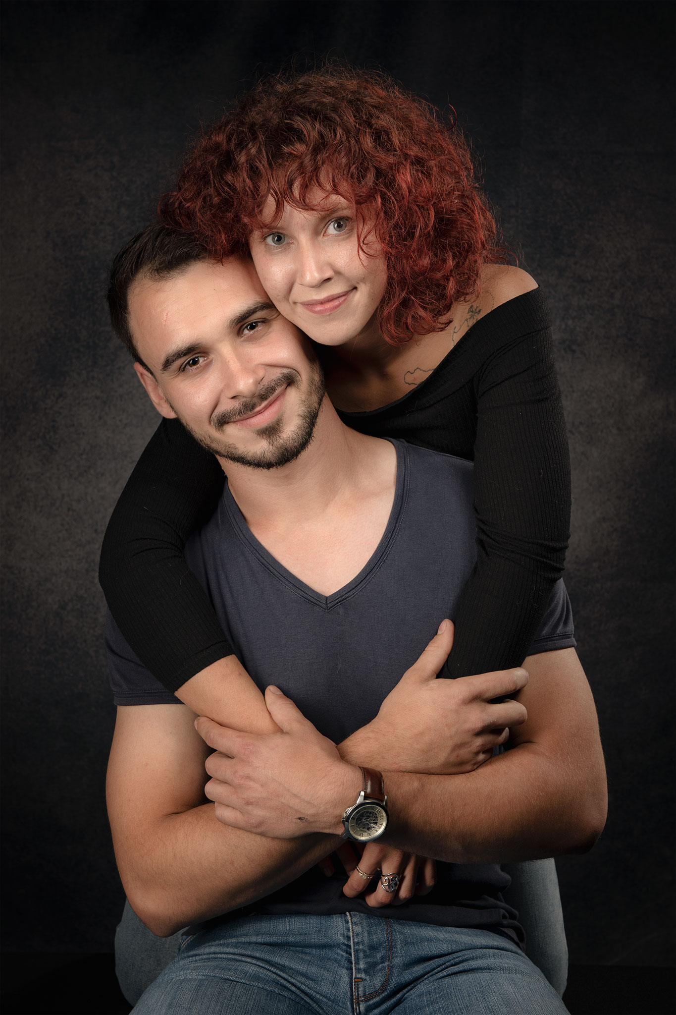Couple en studio