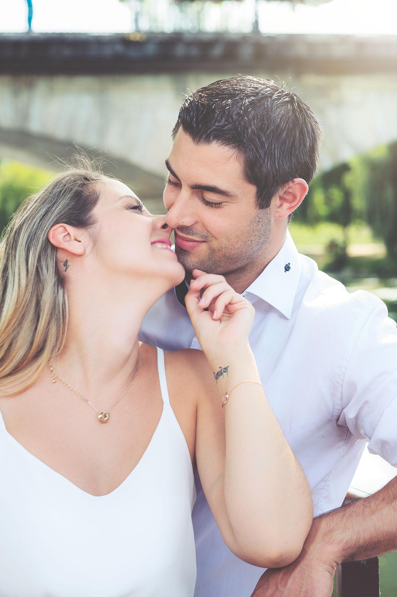 Couple en exterieur