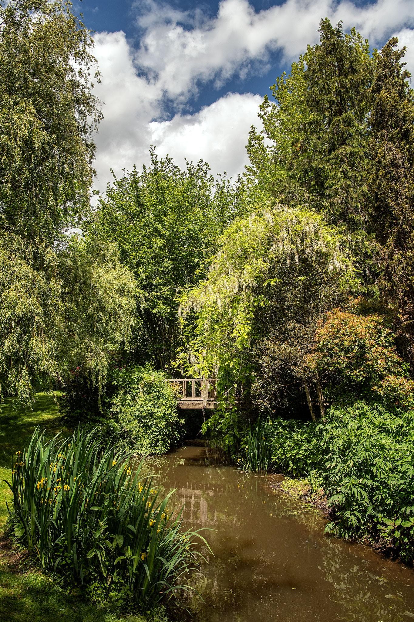 Les jardins tranquilles de Brantôme