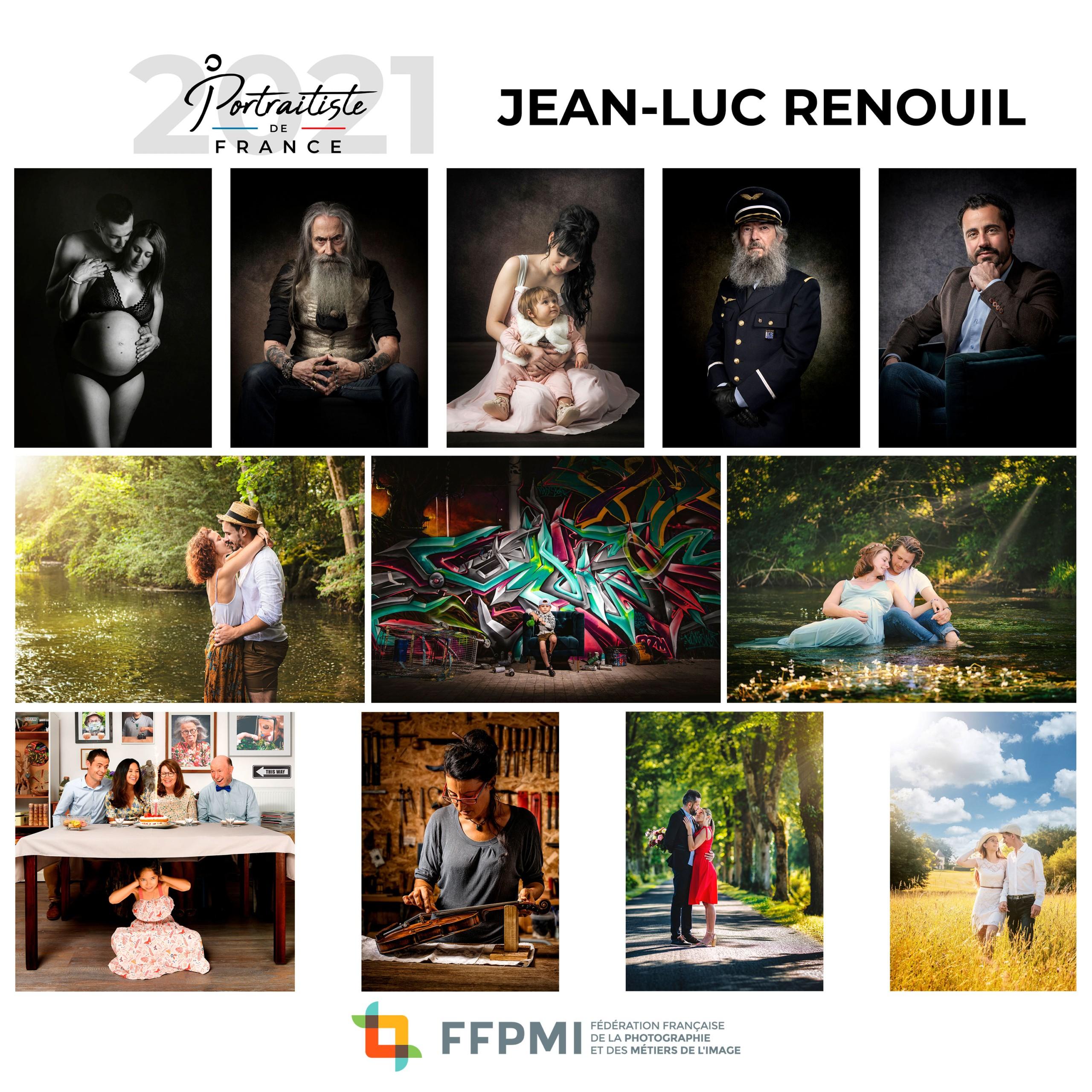 Lauréat Portraitiste de France 2021